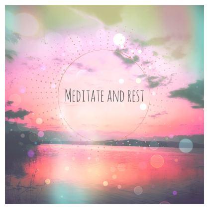 Meditate Serving Platter