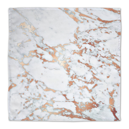 Rosegold Marble Fabric Placemats