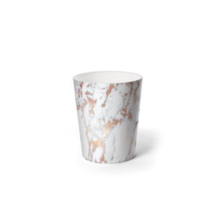 ROSEGOLD MARBLE - Waste Paper Bin