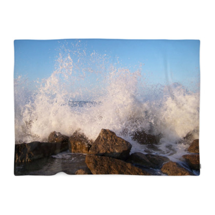 Ocean Photography Blanket