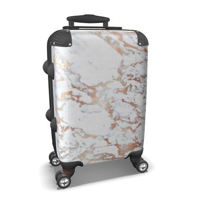 MARBLE ROSEGOLD - Suitcase