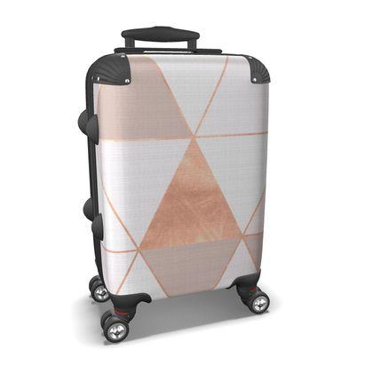 GEO TIKKI - ROSEGOLD PASTEL - Suitcase