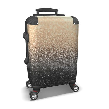 GOLD BLACK - Suitcase