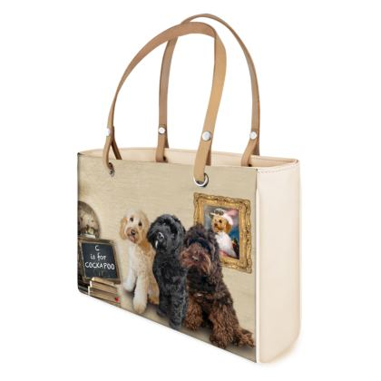 C is for COCKAPOO Leather Handbags