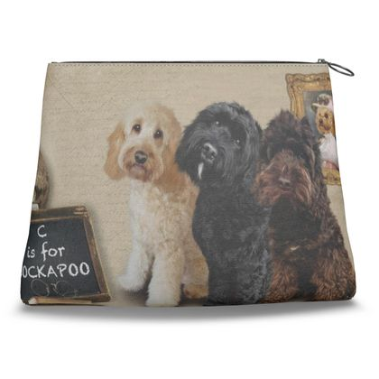 C is for COCKAPOO Clutch Bag