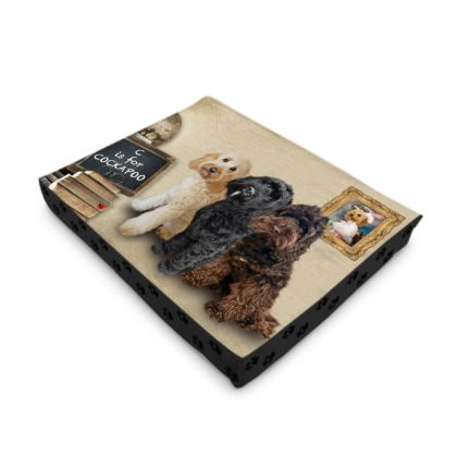 C is for COCKAPOO Dog Pet Bed