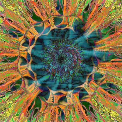Cushion, Galaxy Mandala