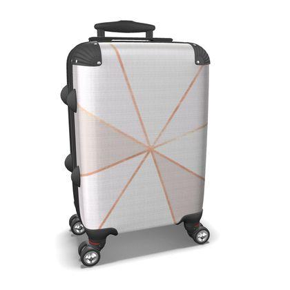 GEO SUNBURST ROSEGOLD - Suitcase