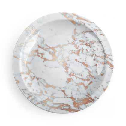 ROSEGOLD MARBLE - Party Plates