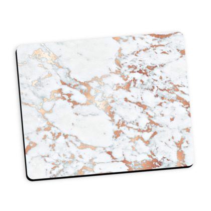 ROSEGOLD MARBLE -Mouse Mat