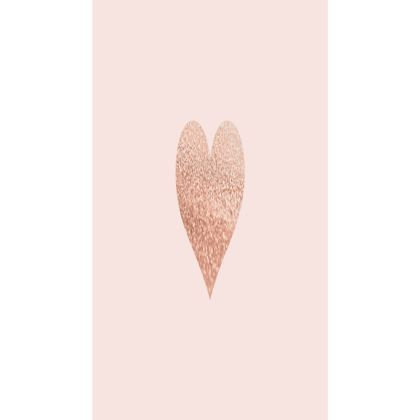 ROSEGOLD HEART BLUSH  - Trays