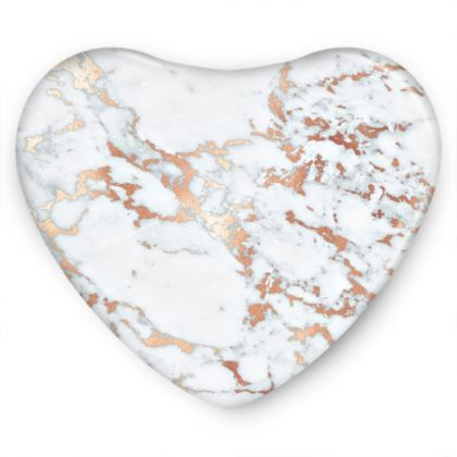 ROSEGOLD MARBLE -Sweet Heart Tin