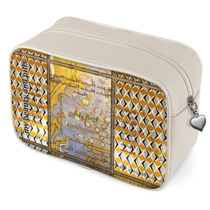 Kulturbeutel Leder Beauty & Pills Beauty Bag ninibing34's DESIGNER Kulturbeutel