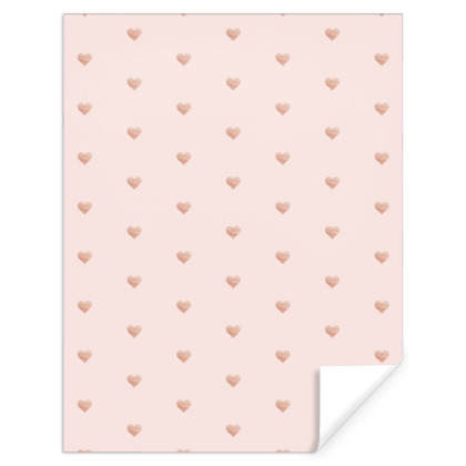 ROSEGOLD HEART BLUSH -Gift Wrap