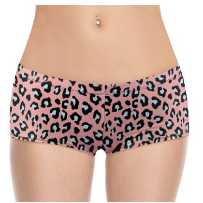 Leopard Print - Icy Peach Shorts
