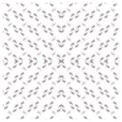 Grey geometric feather Cushions