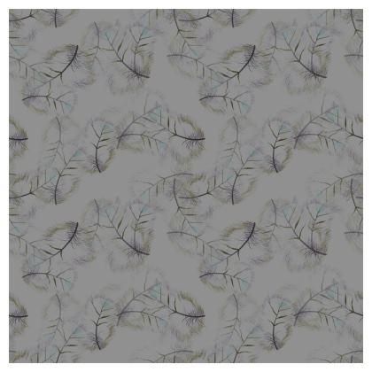 Falling feather dark grey Cushions