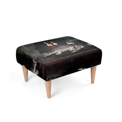 478,- Fußbank Polsterhocker Footstool   #fusshocker #hocker passend zu FLAMINGO