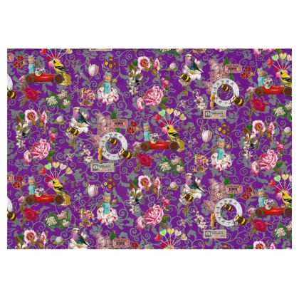 Flower Festival Cup and Saucer