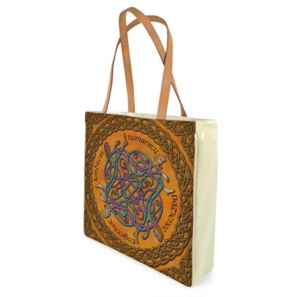 'Humanity' Celtic Knotwork Shopper Bag