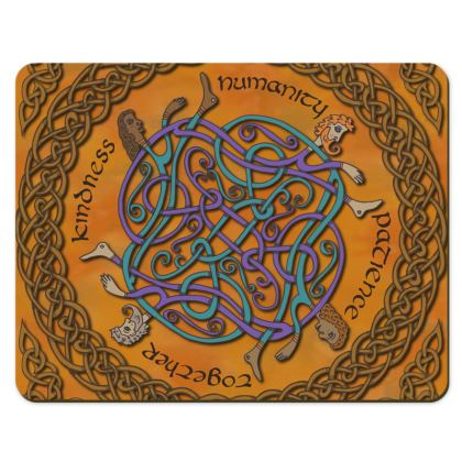 'Humanity' Celtic Knotwork  Placemats