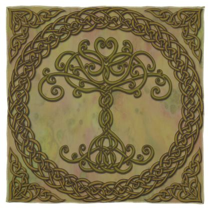Celtic Tree of Life Scarf, Wrap or Shawl