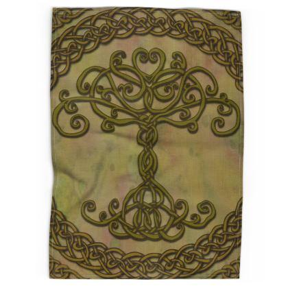 Celtic Tree of Life Tea Towel