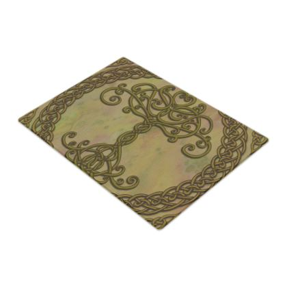 Celtic Tree of Life Chopping Board