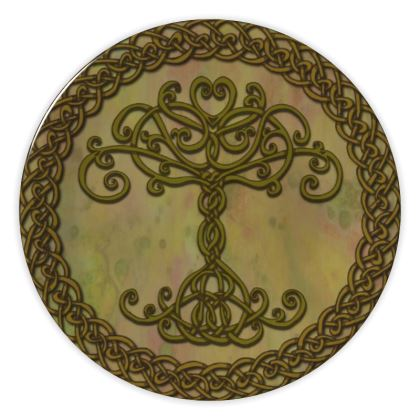 Celtic Tree of Life China Plate