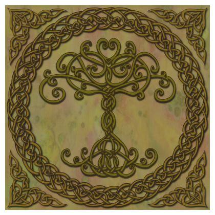 Celtic Tree of Life Serving Platter