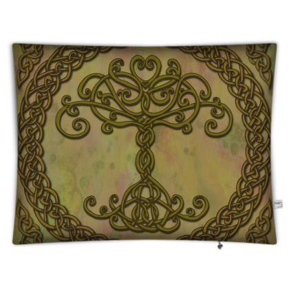 Celtic Tree of Life Floor Cushion
