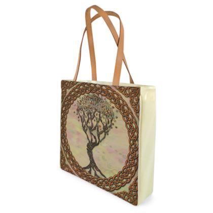 Celtic Tree Shopper Bag
