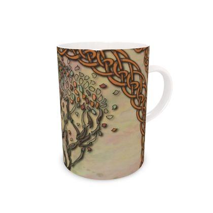 Celtic Tree China Mug