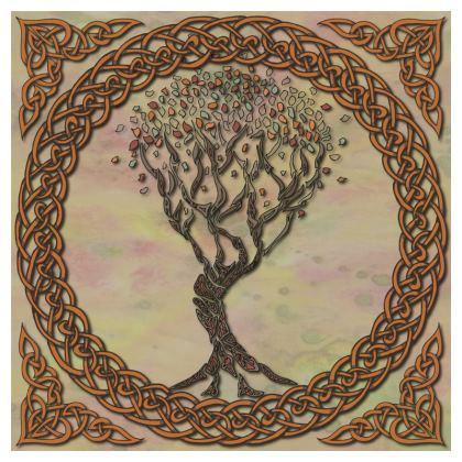 Celtic Tree China Plate