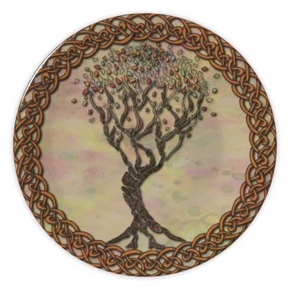 Celtic Tree China Plate