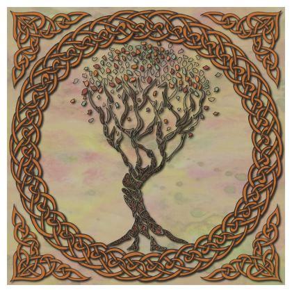 Celtic Tree Cushion