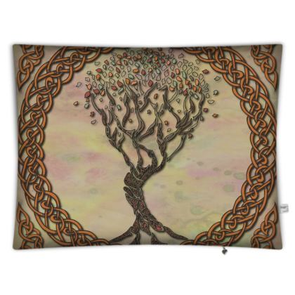 Celtic Tree Floor Cushion