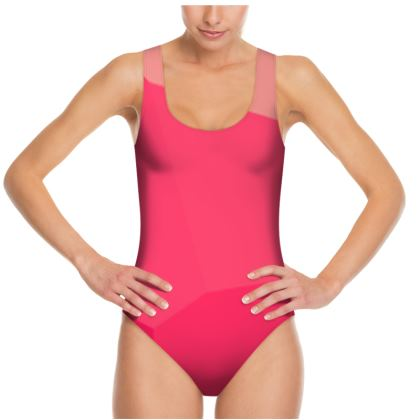 Shades of Pink Swimsuit ©