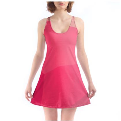 Beautiful Shades of Pink and Grey Custom Chemise ©