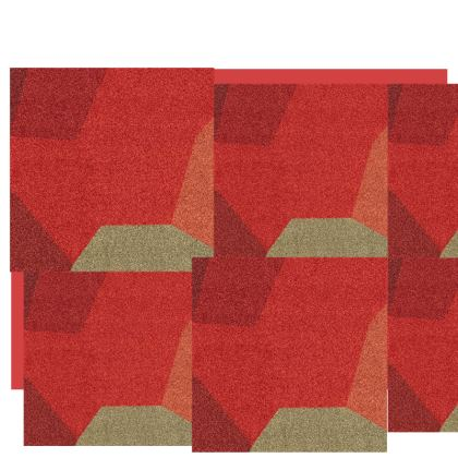 Beautiful Shades of Red and Grey Abstract Design ©