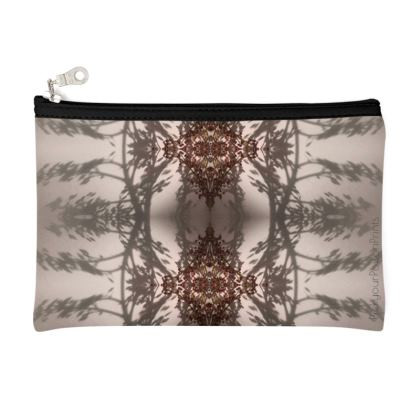 Floral reflection pouch