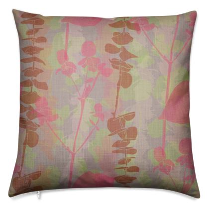 Sherbet Garden - Luxury Cushion