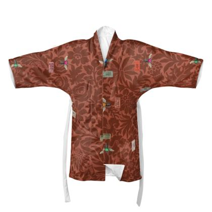 Love Bee Ticket Kimono