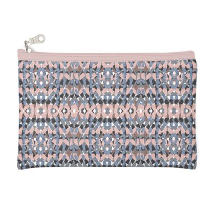 pink mosaic pouch