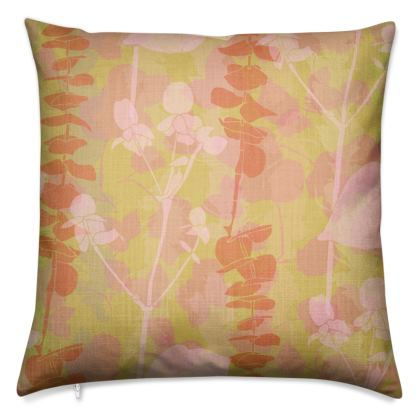 Sherbet Garden Collection - Luxury Cushion
