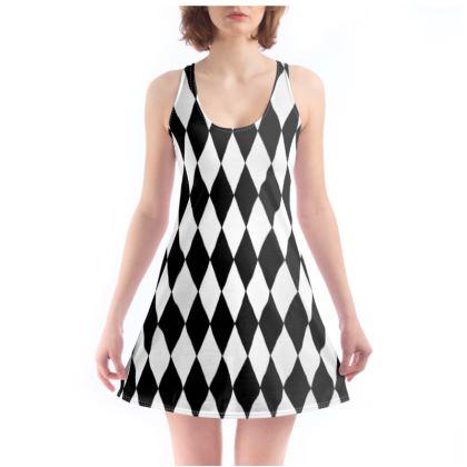 Beach Dress Diamond Design