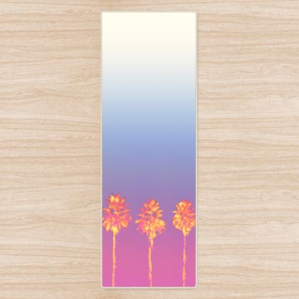 Palm Trees Collection Yoga Mat