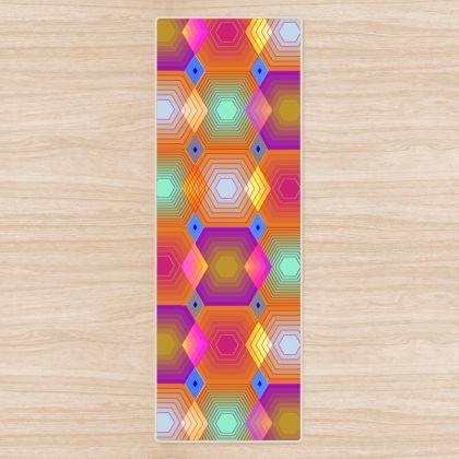 Geometrical Shapes Collection Yoga Mat