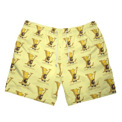 TDM CULTURE COOLIN MEME SWIM TRUNKS