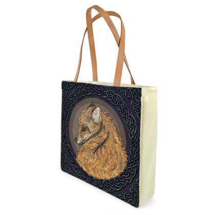 Celtic Fox Shopper Bag